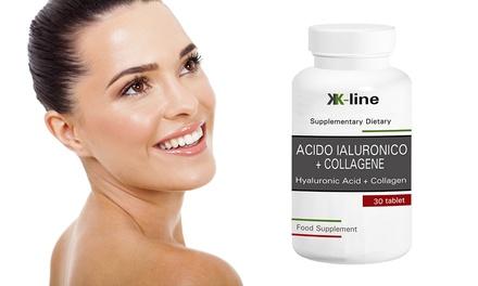 Fino a 720 di Acido Ialuronico+Collagene K Line per la cura e la nutrizione della pelle, di ossa e articolazioni