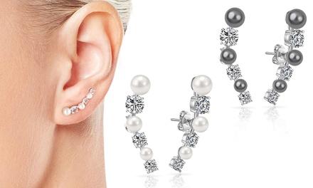 Fino a 3 paia di orecchini Philip Jones con cristalli Swarovski® disponibili in 3 colori